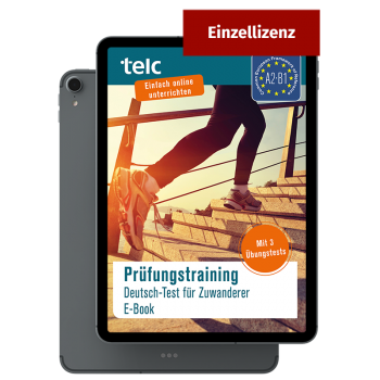 Prüfungstraining Deutsch Test für Zuwanderer E-Book Einzellizenz