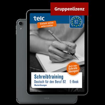 Schreibtraining Deutsch für den Beruf B2 Musterlösungen E-Book Mehrfachlizenz