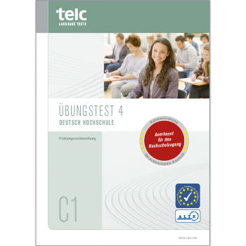 telc Deutsch C1 Hochschule, Übungstest Version 4, Heft