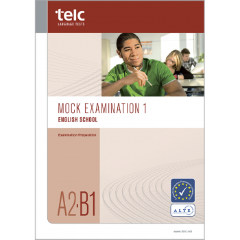 telc English A2-B1 School, Übungstest Version 1, Heft