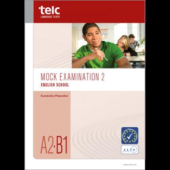 telc English A2·B1 School, Übungstest Version 2, Heft