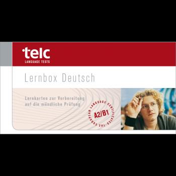 telc Deutsch A2-B1, Flashcards oral examination