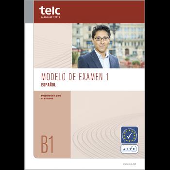 telc Español B1, Übungstest Version 1, Heft