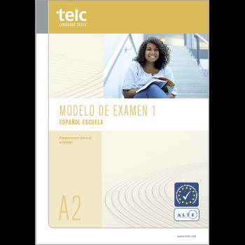 telc Español A2 Escuela, Übungstest Version 1, Heft