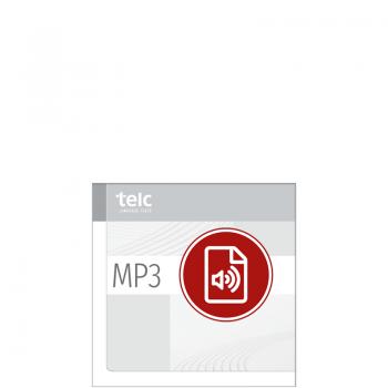 telc Deutsch A1 für Zuwanderer, Übungstest Version 1, MP3 Audio-Datei