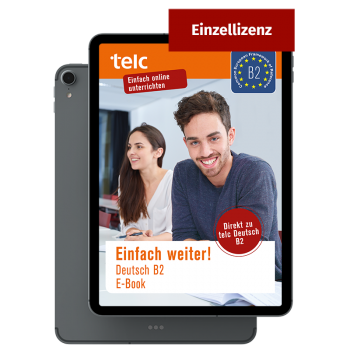 Einfach weiter! Deutsch B2 E-Book Einzellizenz