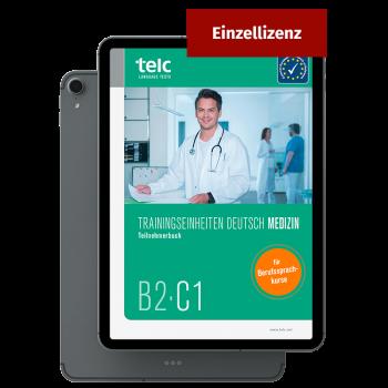 Trainingseinheiten Deutsch B2·C1 Medizin E-Book Einzellizenz