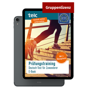 Exam Training German Test for Immigrants E-Book (group licence)