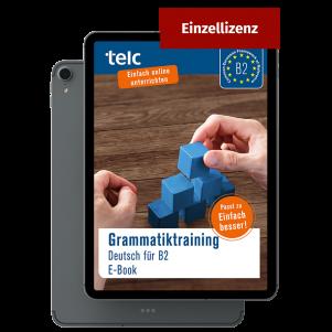 Grammar Training German for B2 E-Book (single licence)