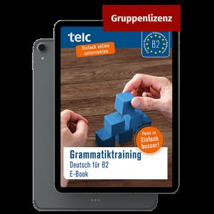 Grammar Training. German for B2 E-Book (group license)