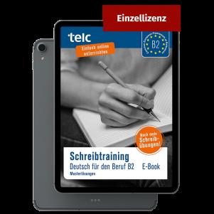 Schreibtraining Deutsch für den Beruf B2 Sample solutions e-book (single licence)