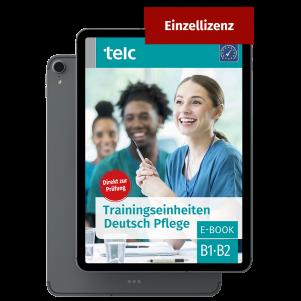 Training modules Deutsch B1·B2 Pflege E-Book Individual licence