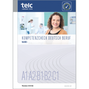 Kompetenzcheck Deutsch Beruf, version 1, complete package for 50 test takers