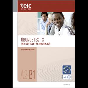 Deutsch-Test für Zuwanderer A2-B1, Mock Examination version 3, booklet