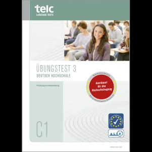 telc Deutsch C1 Hochschule, Mock Examination version 2, booklet