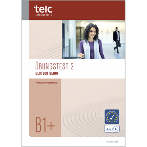 telc Deutsch B1+ Beruf, Mock Examination version 2, booklet