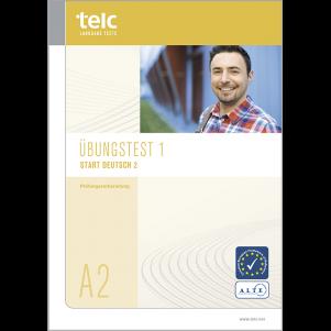 telc Start Deutsch 2, Mock Examination version 1, booklet