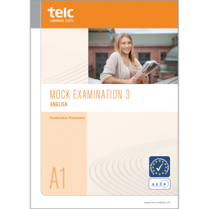 telc English A1, Mock Examination version 3, booklet
