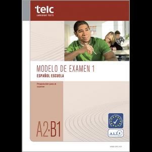 telc Español A2-B1 Escuela, Mock Examination version 1, booklet