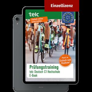 Prüfungstraining telc Deutsch C1 Hochschule E-Book Individual licence