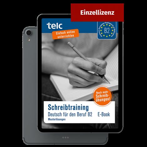 Schreibtraining Deutsch für den Beruf B2 Musterlösungen E-Book Einzellizenz