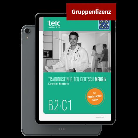 Trainingseinheiten Deutsch Medizin Kursleiter-Handbuch E-Book Gruppenlizenz