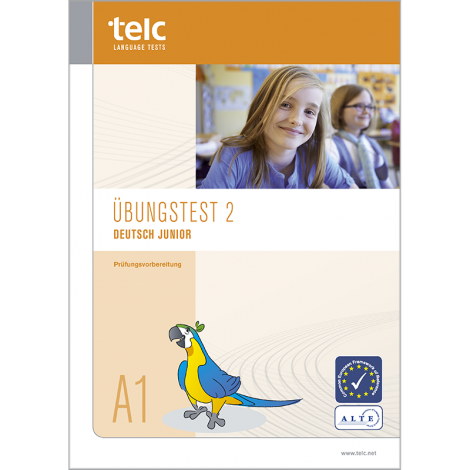 telc Deutsch A1 Junior, Mock Examination version 2, booklet