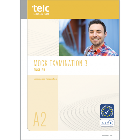 telc English A2, Mock Examination version 3, booklet