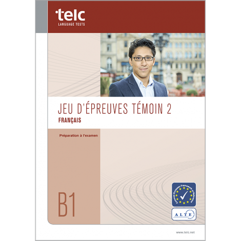 telc Français B1, Übungstest Version 2, Heft