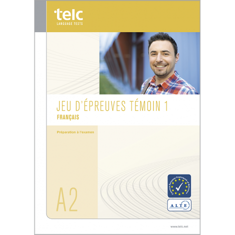 telc Français A2, Übungstest Version 1, Heft