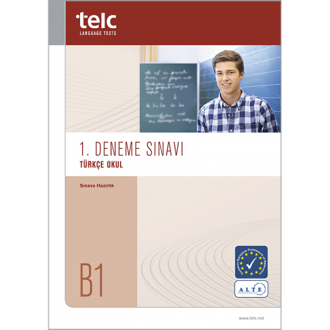telc Türkçe B1 Okul, Mock Examination version 1, booklet