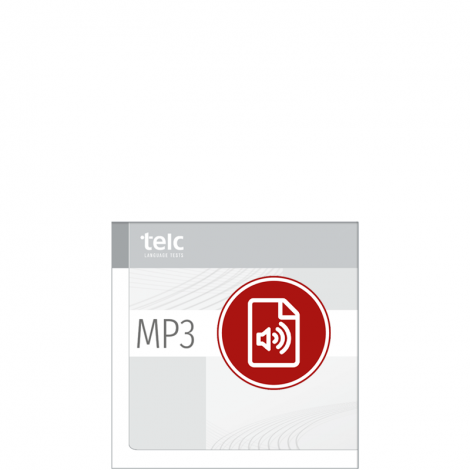 telc Deutsch A2+ Beruf, Übungstest Version 3, MP3 Audio-Datei