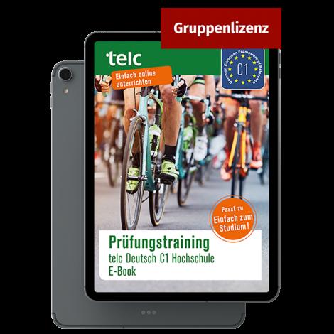 Prüfungstraining telc Deutsch C1 Hochschule E-Book Gruppenlizenz