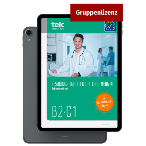 Training modules Deutsch B2·C1 Medizin E-Book Group licence